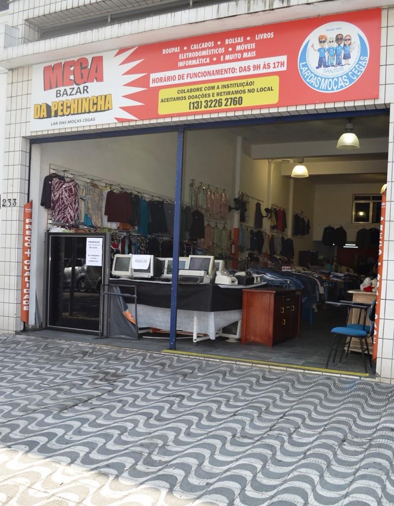 Fachada Mega Bazar da Pechincha
