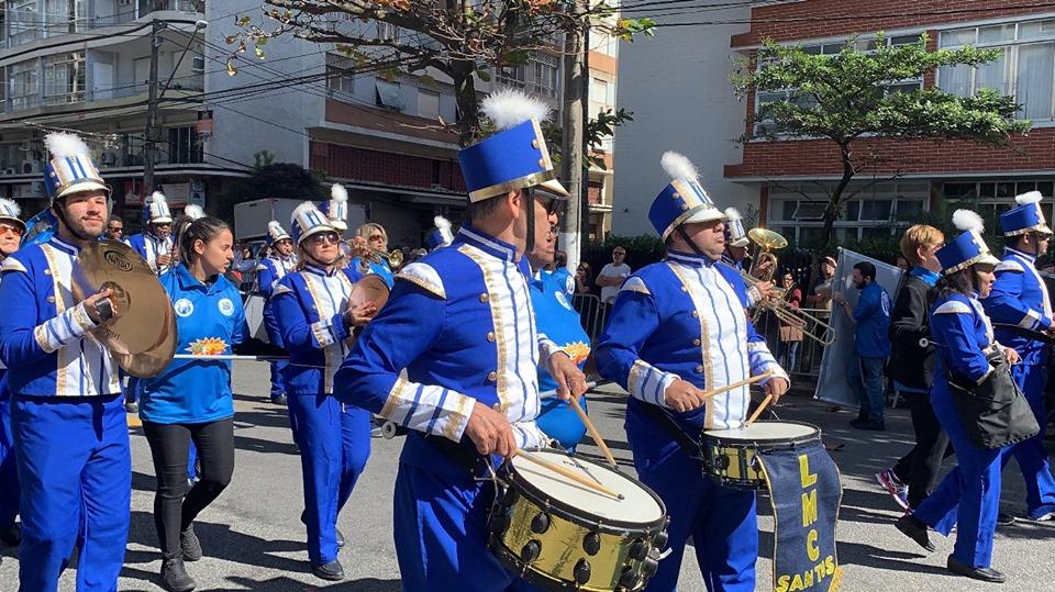 Banda do LMC dá show em Santos e São Vicente no último domingo