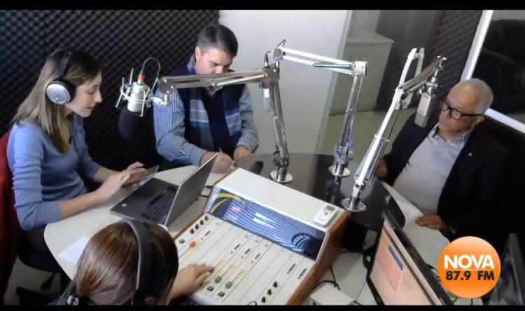 Presidente do LMC, Carlos Antônio Gomes, participa de programa na Rádio Nova FM