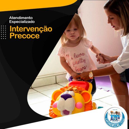 Confira como é feito o atendimento especializado da Intervenção Precoce do Lar das Moças Cegas