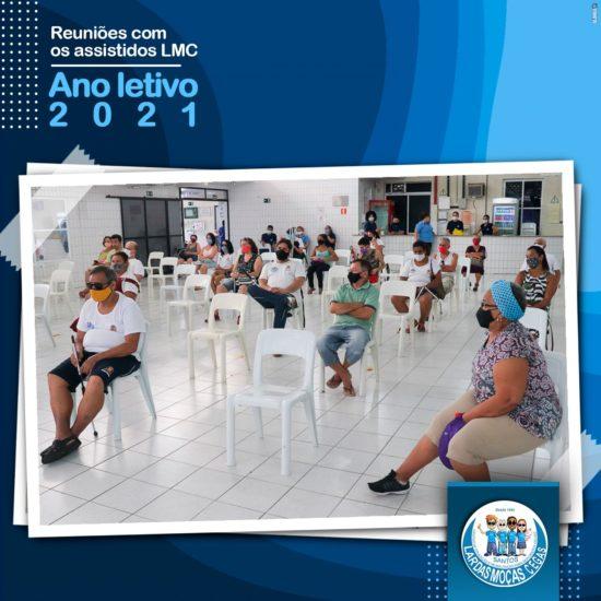 Lar das Moças Cegas promove reunião com assistidos para o início do ano letivo de 2021