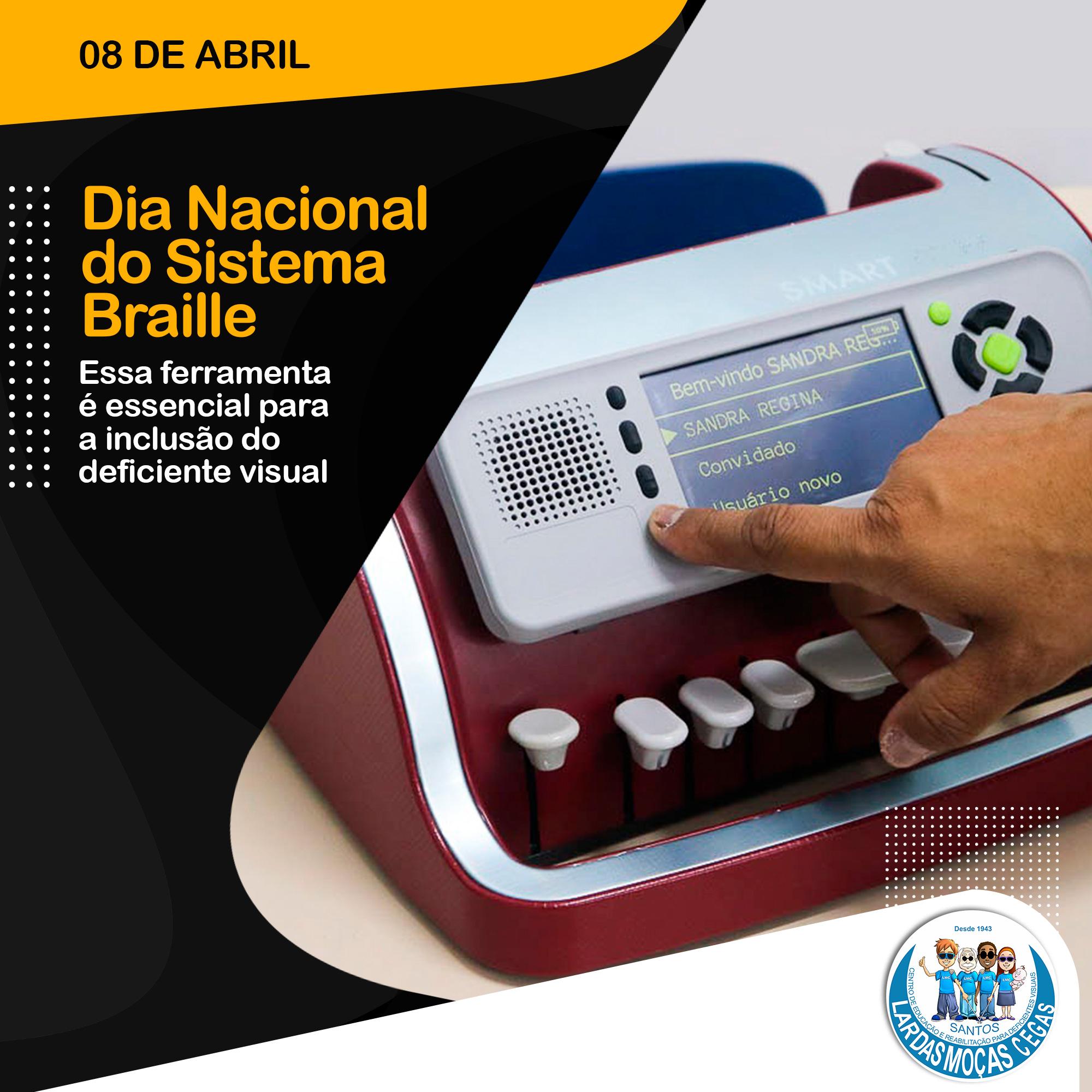 Lar das Moças Cegas celebra o Dia Nacional do Braille com a chegada de duas novas máquinas braille de última geração