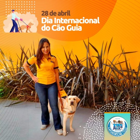 Hoje é o Dia Internacional do Cão Guia
