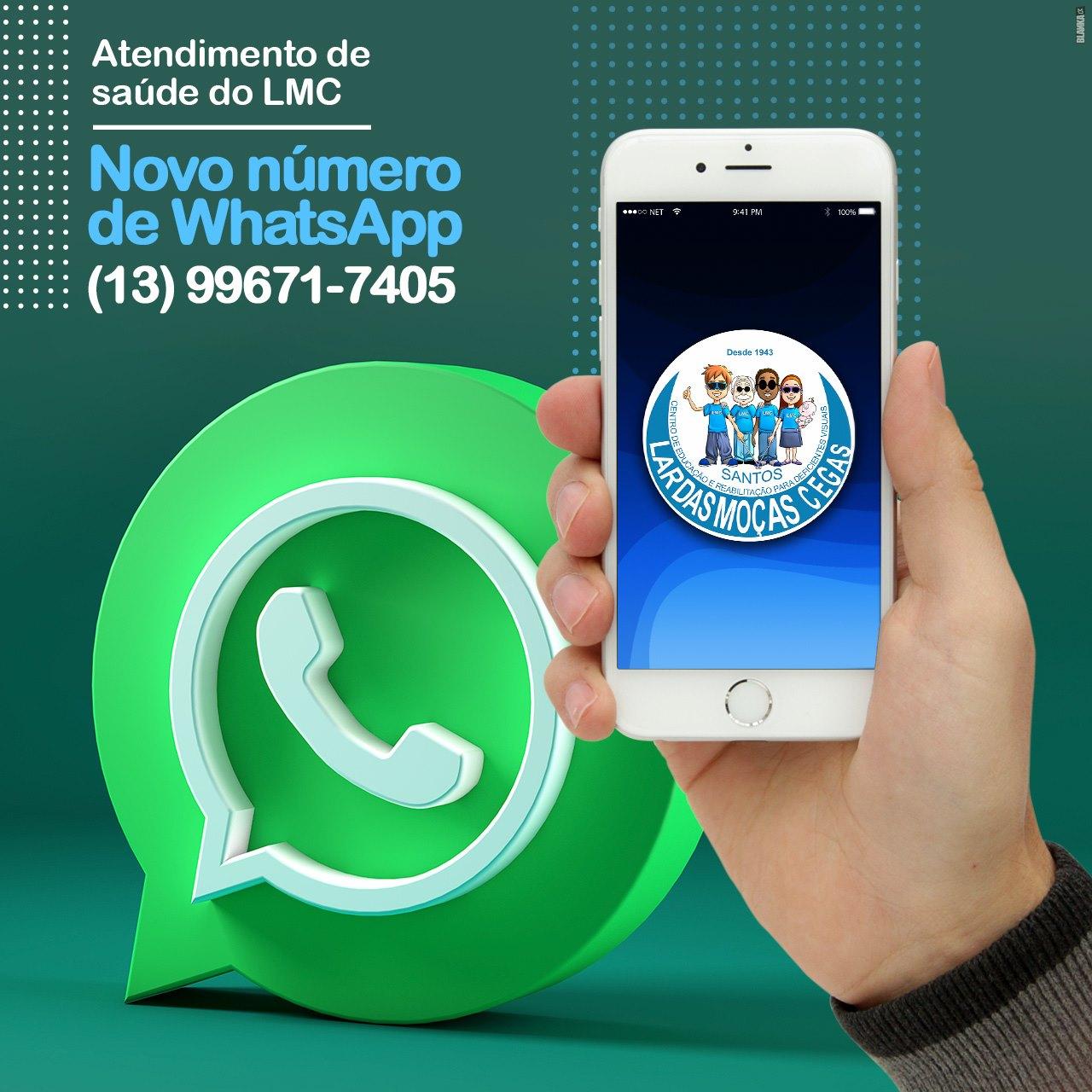 O CEDV agora tem WhatsApp!