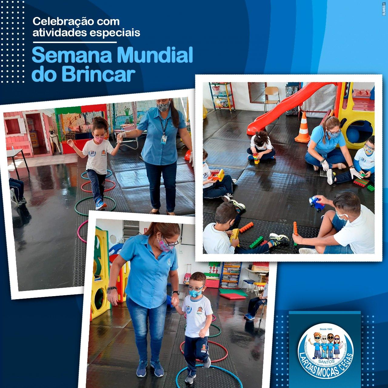 'Semana Mundial do Brincar' é celebrado com atividades especiais para os pequenos assistidos do Lar