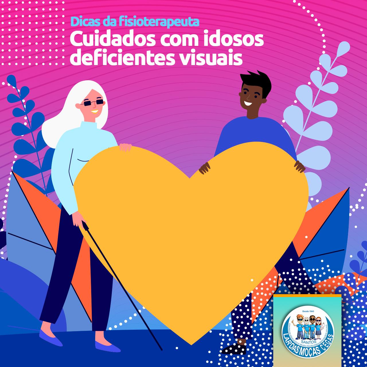 Confira dicas para cuidados com idosos com deficiências visuais