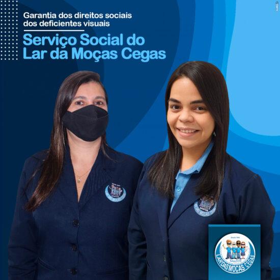 Serviço Social do Lar das Moças Cegas garante os direitos sociais dos deficientes visuais